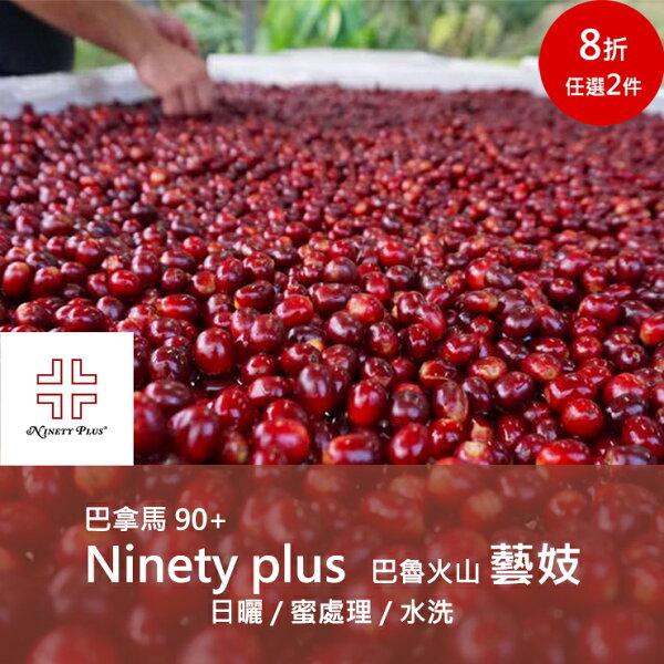 【90+藝妓Geisha】Ninetyplus巴拿馬巴魯火山藝妓咖啡豆(14磅裝)➤日曬蜜處理水洗