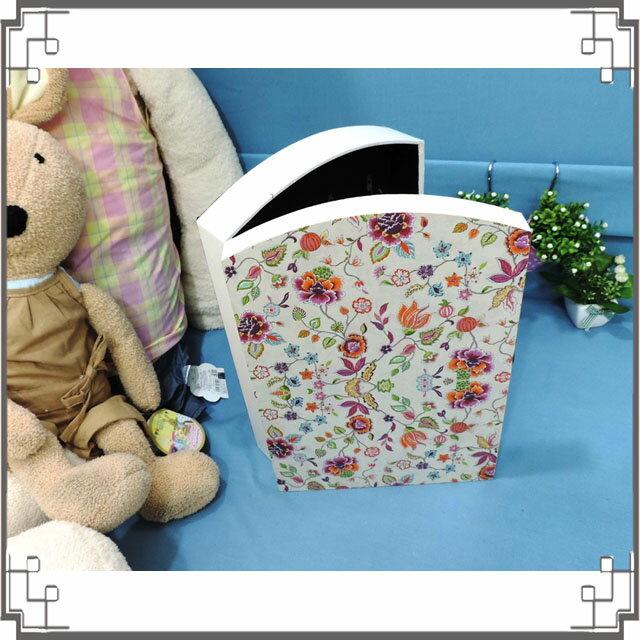 皮革KEY BOX《LK6-1》滿版花朵木製皮革鑰匙盒 收納盒 壁櫃 壁飾 鄉村風家飾◤彩虹森林◥