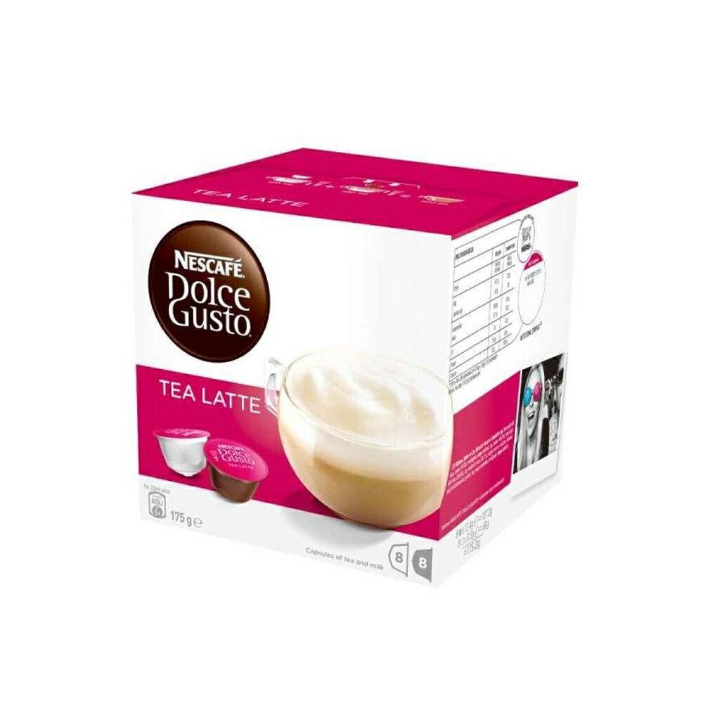 雀巢Dolce gusto膠囊咖啡機專用膠囊(單盒裝,含16顆)紅茶拿鐵(最佳賞味期僅至2018/03/31)