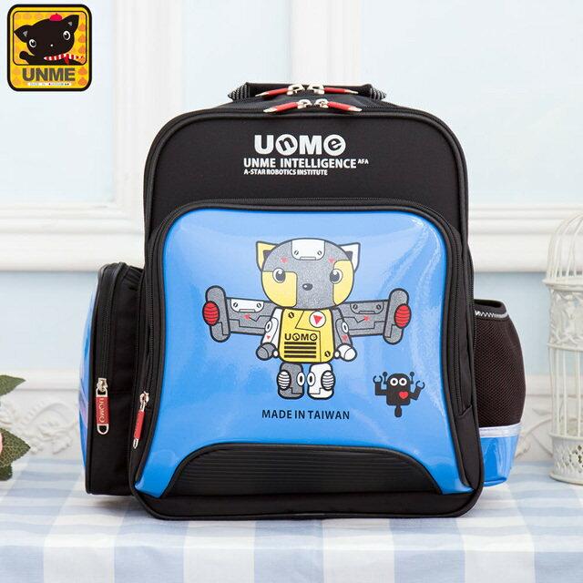 【UNME】台灣製專櫃書包/減壓書包/中高年級適用(藍色3077A)【威奇包仔通】