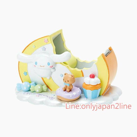 【真愛日本】17032400017 陶瓷膠台-CN蛋糕黃+AAG三麗鷗家族 喜拿狗 大耳狗 膠帶台 預購