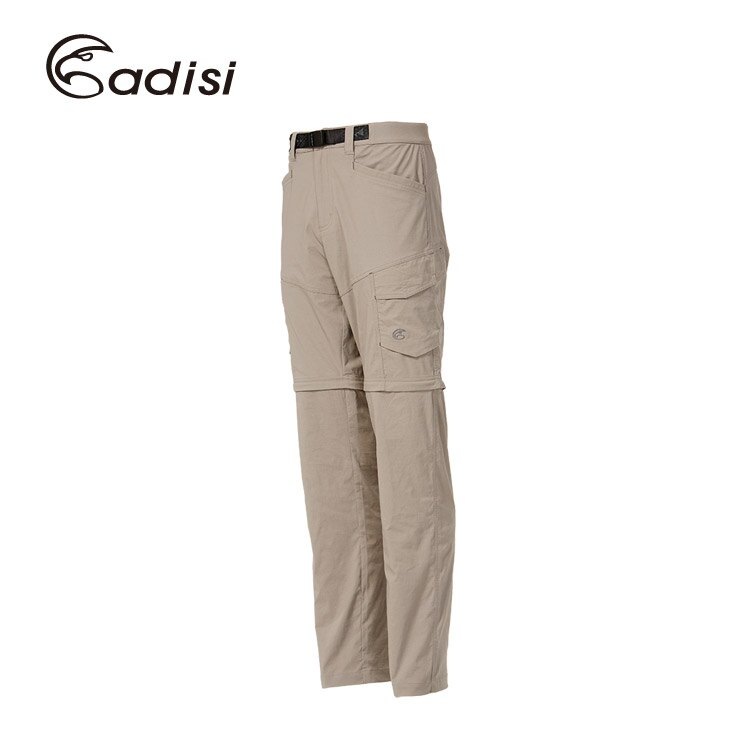 ADISI 男彈性快乾休閒兩截褲AP1611010 (S~2XL) / 城市綠洲專賣(吸汗快乾,彈性舒適,修飾臀型)