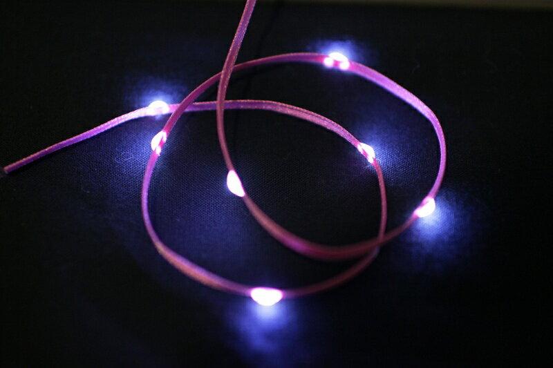 LiTex LED緞帶-白燈系列     聖誕節 婚禮佈置 派對節慶 DIY手工手作 舞台服裝 9