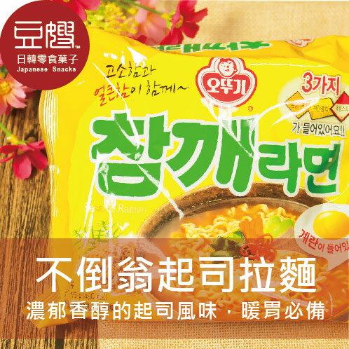 【豆嫂】韓國泡麵 OTTOGI 不倒翁芝麻拉麵(單包)