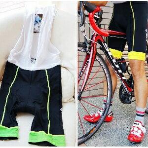 美麗大街【BK105050214】 CJ公路車單車 網織背心吊帶褲 車褲
