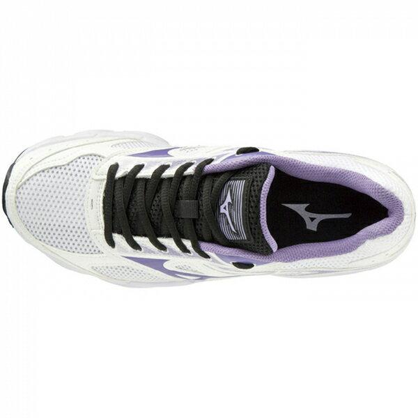 Mizuno Maximizer 21 [K1GA190168] 女鞋 運動 休閒 慢跑 走路 輕量 美津濃 白紫 3