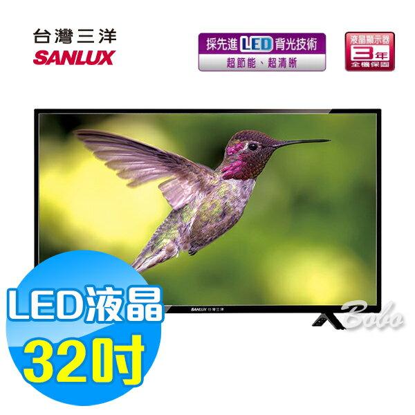 SANLUX 台灣三洋 32吋LED 液晶顯示器 液晶電視 SMT-32TA1 (含視訊盒)