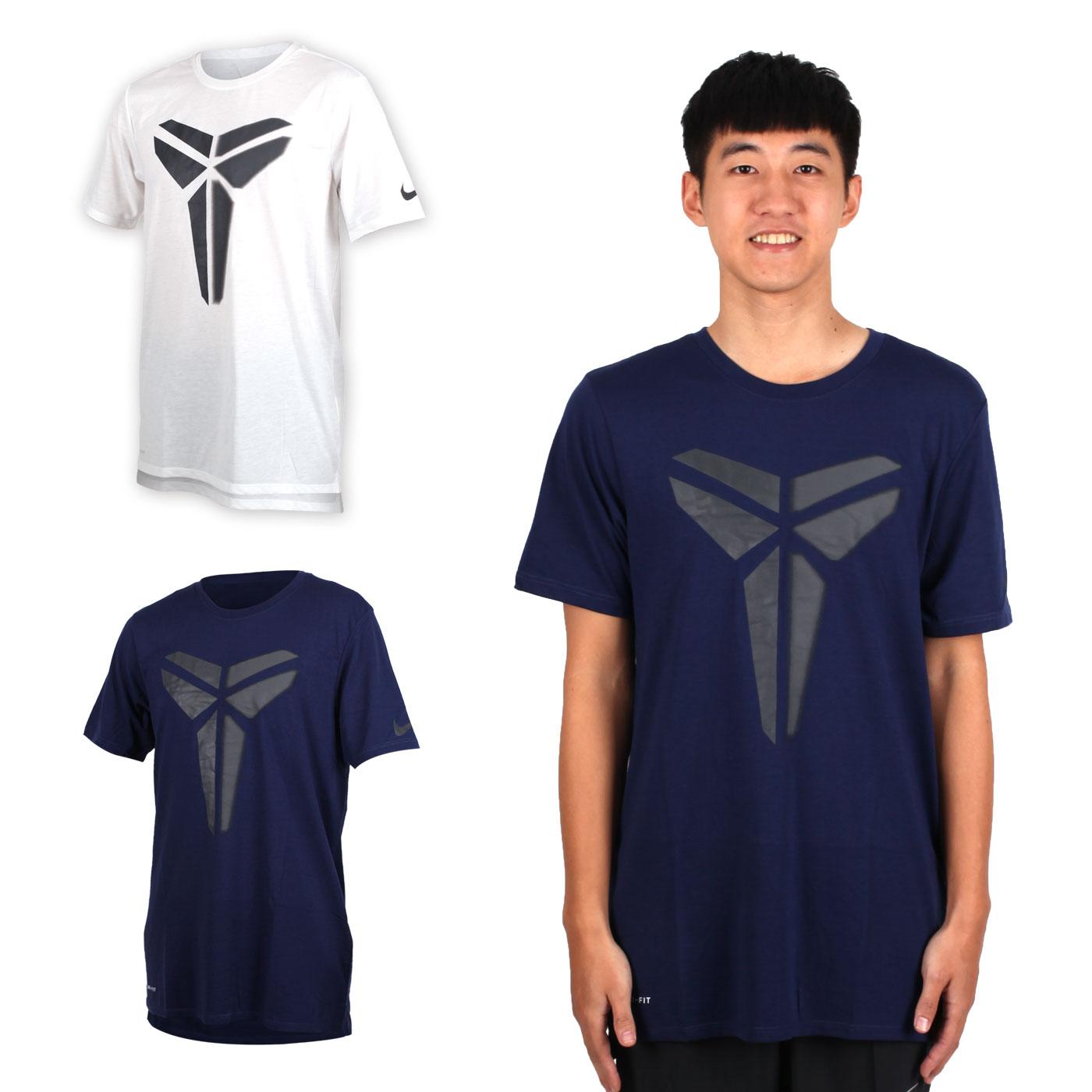 NIKE 男針織短袖上衣 (T恤 短T 籃球 NBA Kobe Bryant 柯比【03312743】≡排汗專家≡