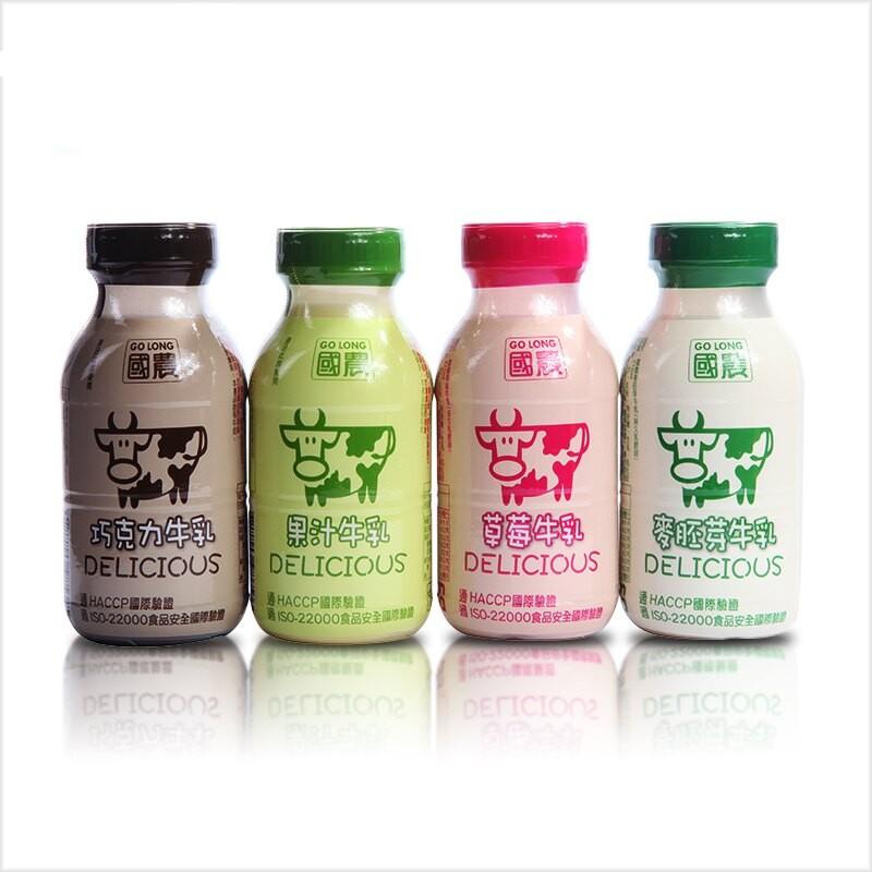 ※超取專區※ 國農調味牛乳系列 (215ml X 18罐) 塑膠PP瓶 牛乳 鮮乳 保久乳 調味乳 飲品(4口味可選)