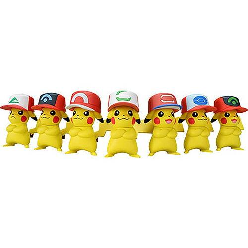《Pokemon》20周年皮卡丘紀念組