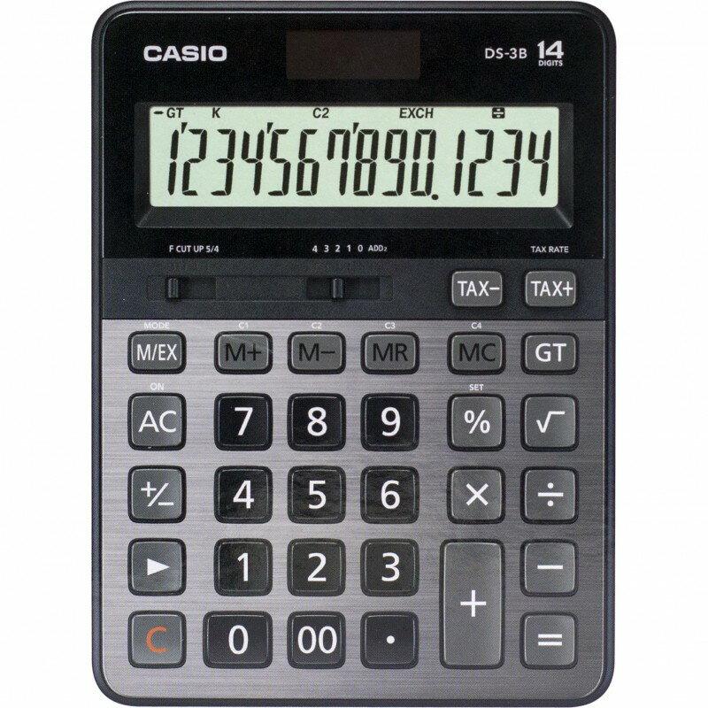【CASIO卡西歐】【公司貨附保卡】 CASIO卡西歐 DS-3B 14位元 商用型計算機