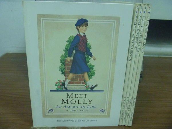 【書寶二手書T2/兒童文學_HOP】MEET MOLLY_CHANGES FOR MOLLY等_共5本合售