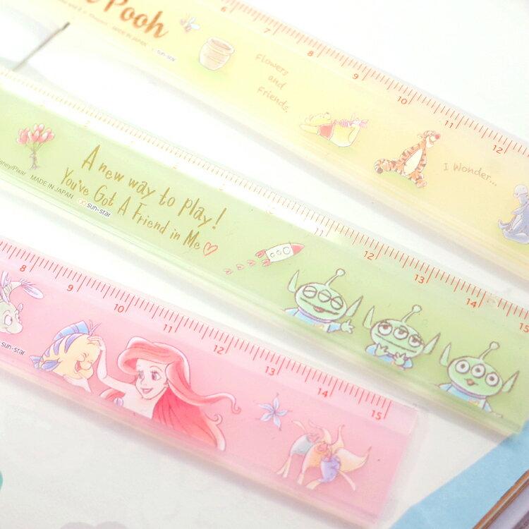 PGS7 日本迪士尼系列商品 - 日本 迪士尼 粉嫩 手繪 系列 尺 維尼 愛麗兒 三眼怪【SHJ7321】