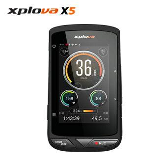 【原廠公司貨】Xplova X5 實況定位智慧拍攝車錶