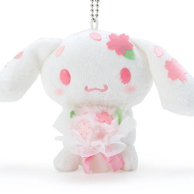大耳狗 櫻花捧花 珠鍊絨毛吊飾娃 GD24 絨毛娃娃 娃娃 布偶 玩偶 吊飾娃 掛飾 擺飾 真愛日本