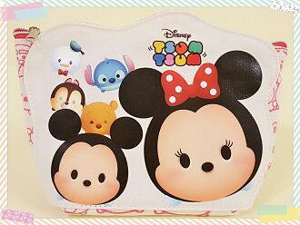 【more 禮品小舖】迪士尼Tsum造型米奇米妮萬用袋/帆布萬用袋、手拿包、化妝包、隨身包袋、筆袋/可愛溫暖女生最愛的禮物/