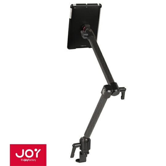 【Aphon生活美學館】喜樂比JOY MagConnect 磁吸式滑軌固定型碳纖維車用架- iPad mini 3/2/1適用(MME205)