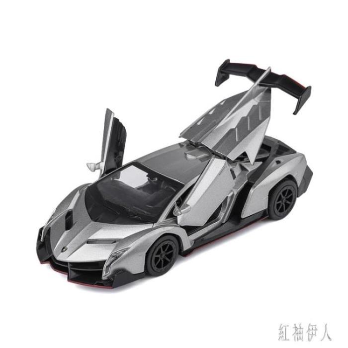 蘭博基尼毒藥汽車模型擺件跑車模型仿真合金兒童小汽車玩具車男孩 aj7067
