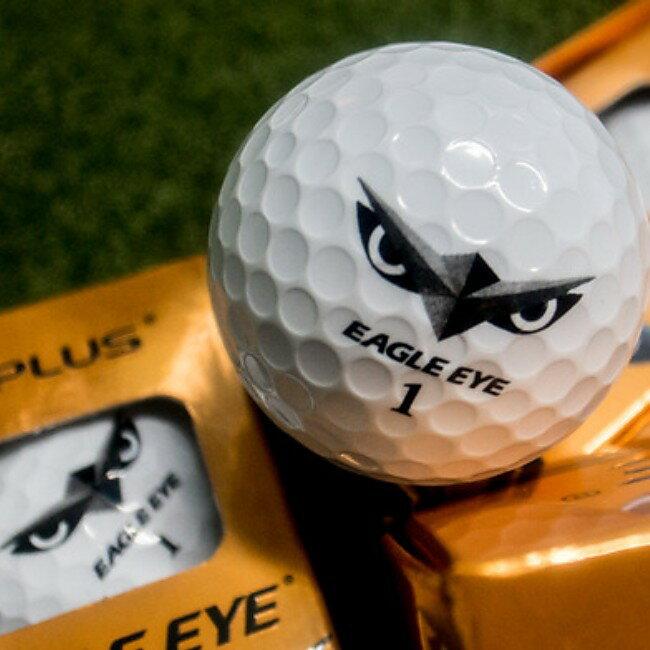 【柏蒂高爾夫】Eagle Eye 超高反發 高爾夫球~最遠距離 (一盒6顆) 適合各種揮桿速度的球友