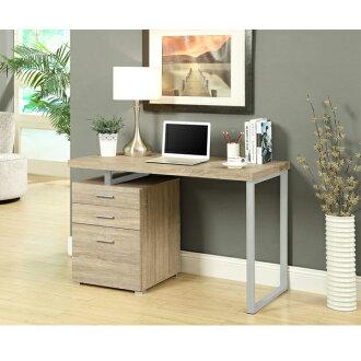 摩登電腦書桌 ( 淺木色 ) / 書桌 / 電腦桌 / 辦公桌 & DIY組合傢俱