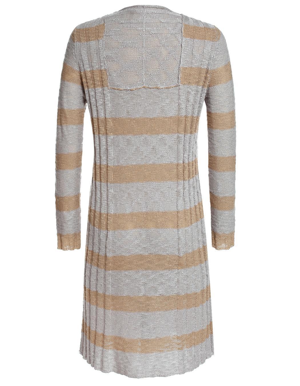 Miageek Women Long Sleeve Maxi Cardigan Outwear 3
