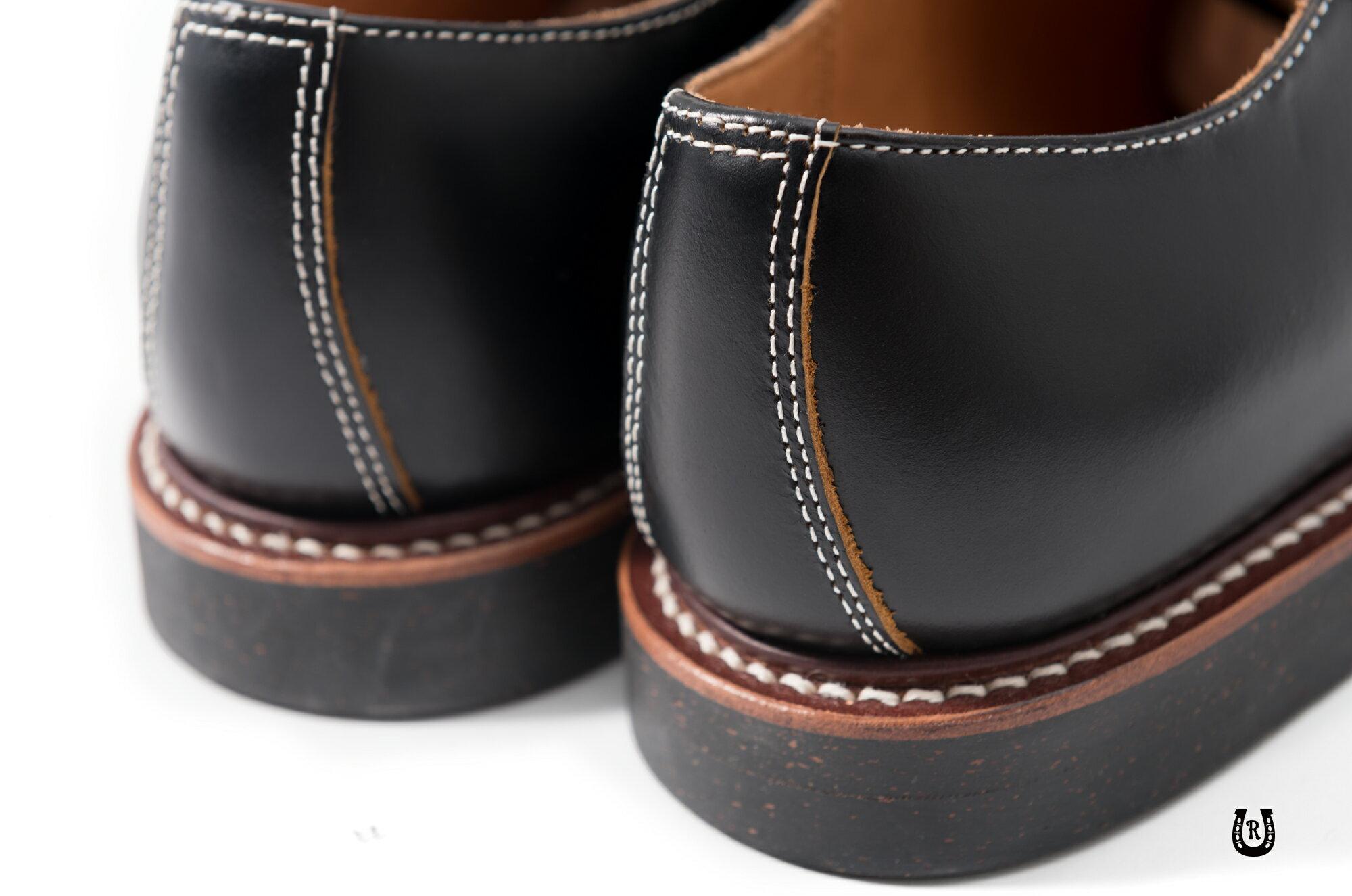 【預購八折】Retrodandy Saddle shoes 經典復古工作皮鞋 日廠Goodyear固特異手工製鞋法 4
