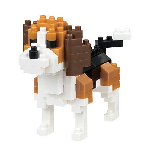 《NanoBlock迷你積木》NBC-253小獵犬
