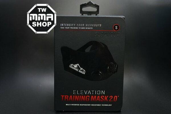 [古川小夫]S西藏旅遊三鐵馬拉松路跑高海拔口罩TrainingMask2.0心肺訓練高地訓練面罩-全黑版SSize