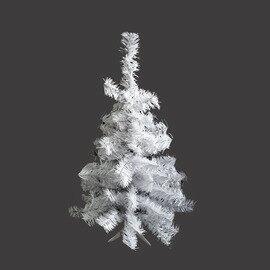 台製豪華型2尺/2呎(60cm)夢幻白色聖誕樹裸樹(不含飾品不含燈)YS-NWT02001