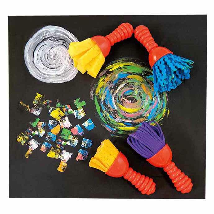 ~華森葳兒童教玩具~美育教具系列~迷你花紋刷筆~塗鴉風格 L1~RE  2026  TW2