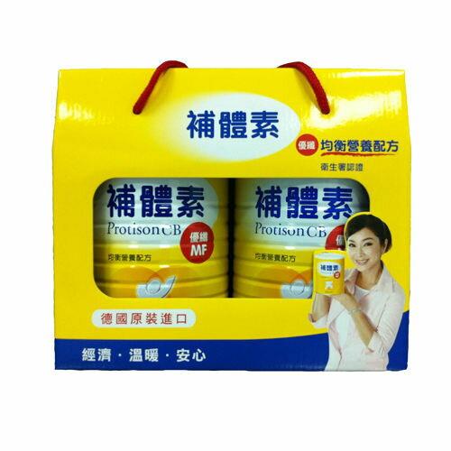 【補體素】 優纖雙罐禮盒組816g+816g 0
