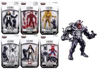 Marvel 玩具與電玩推薦到(卡司 正版現貨)Marvel legends 6吋 猛毒套 6+1 baf 猛毒 漫威 蜘蛛人 一套售就在卡司玩具推薦Marvel 玩具與電玩