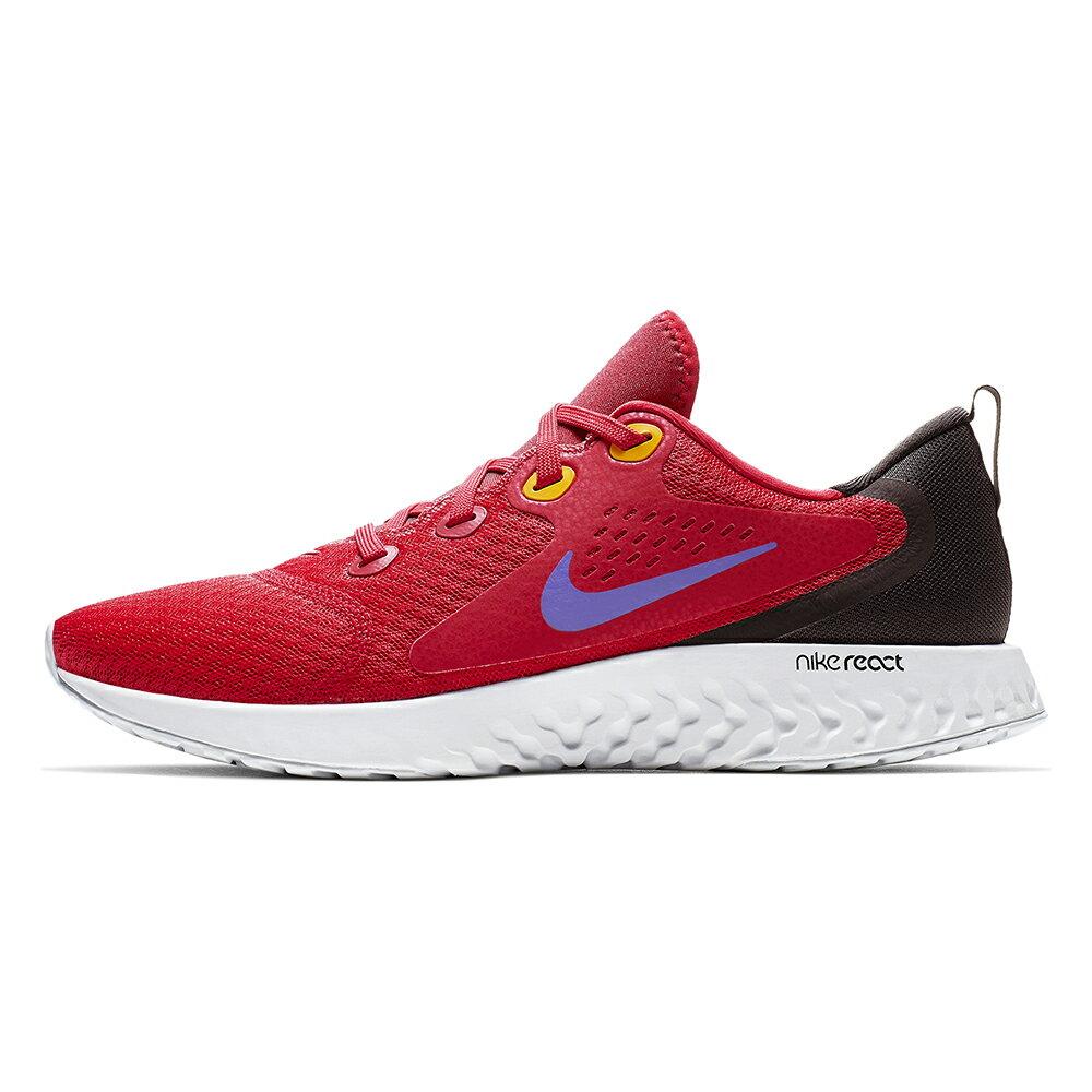 【滿額最高折318】NIKE LEGEND REACT 男鞋 慢跑 柔軟 緩震 紅【運動世界】AA1625-601