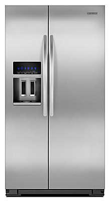 美國 KitchenAid KSF26C4XYY 不鏽鋼 雙門 對開冰箱 747公升【零利率】