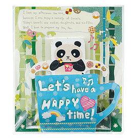 陶和紅茶 Towa「焦糖紅茶」森林泡澡熊貓茶包「再入荷」