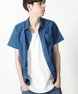 短袖透氣襯衫BLUE
