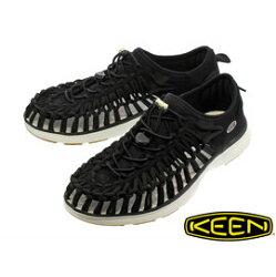 《台南悠活運動家》KEEN UNEEK O2 男運動涼鞋 (黑)1017050