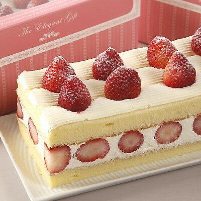 【草莓蛋糕☆87折特價】草莓香草蛋糕(一條) 320元