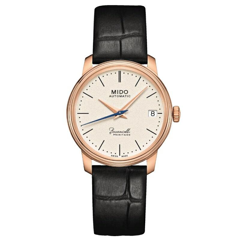 MIDO美度 M0272073626000 / 永恆系列復刻機械腕錶 / 33mm