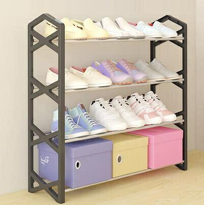 鞋架 簡易多層鞋架家用放門口經濟型宿舍寢室收納鞋柜小鞋架子室內好看TW 流行花園