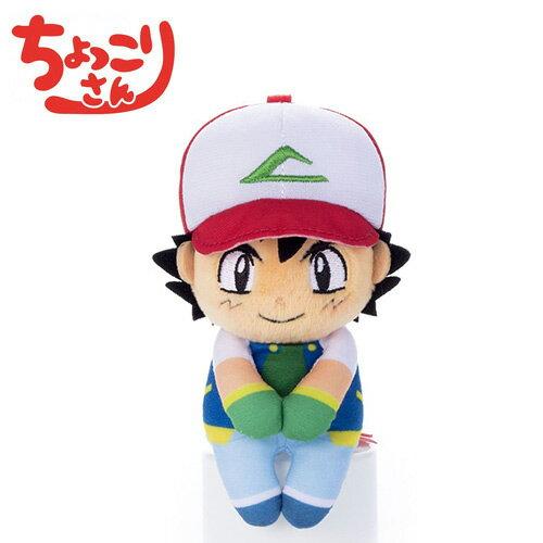 【日本正版】小智排排坐玩偶Chokkorisan玩偶寶可夢神奇寶貝T-ARTS拍照玩偶-289279