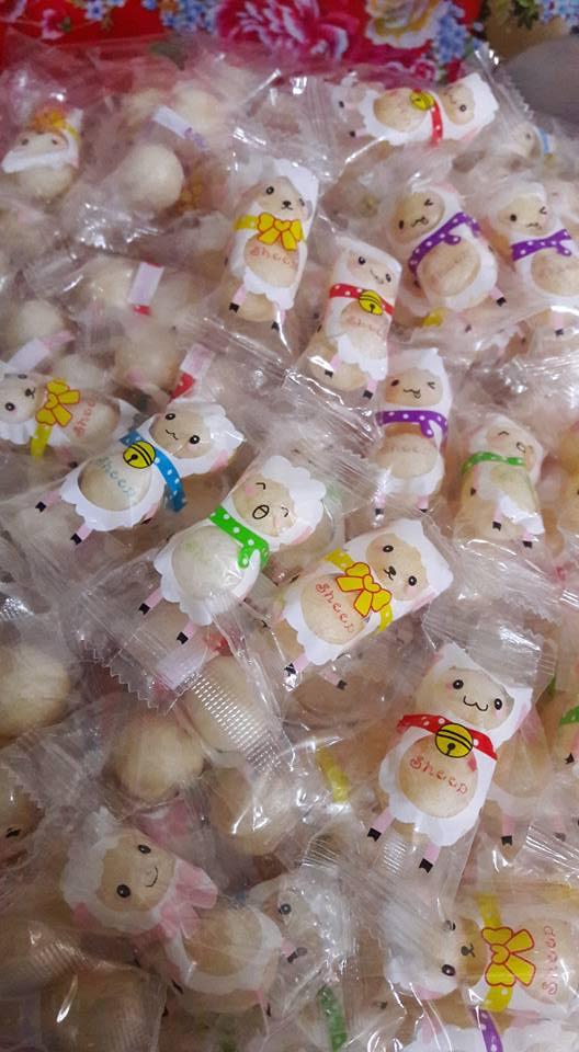 有樂町進口食品 賀新年糖果 軟糖 小綿羊果維軟糖300g 喜洋洋 過好年 乳酸菌軟糖 - 限時優惠好康折扣
