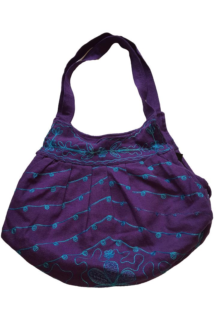 <br/><br/>  尼泊爾製 時尚風情圖案 手提/肩背 兩用包【尼泊爾 手藝坊】Nepalese made, stylish Nepalese pattern hand cum shoulder bag<br/><br/>