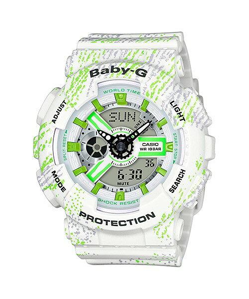 平價包包專賣店 【CASIO】【BABY-G】【女錶】BA-110TX-7A 台灣公司貨 保固一年 附原廠保固卡