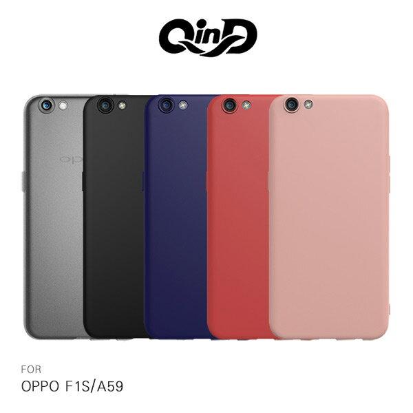 強尼拍賣~ QinD OPPO F1S/A59 新升級 360度全包 微磨砂軟套