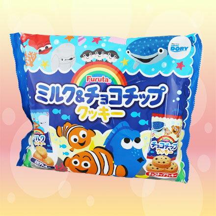 [敵富朗超市]Furuta製果海底總動員牛奶巧克力綜合餅(賞味期限2017.09.30)