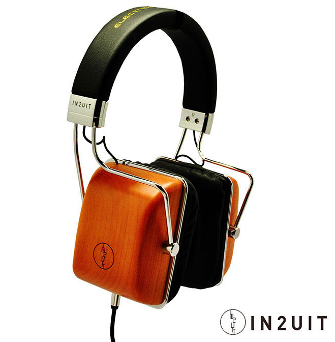 IN2UIT 混合式靜電技術 原木耳罩式耳機 (I500B)