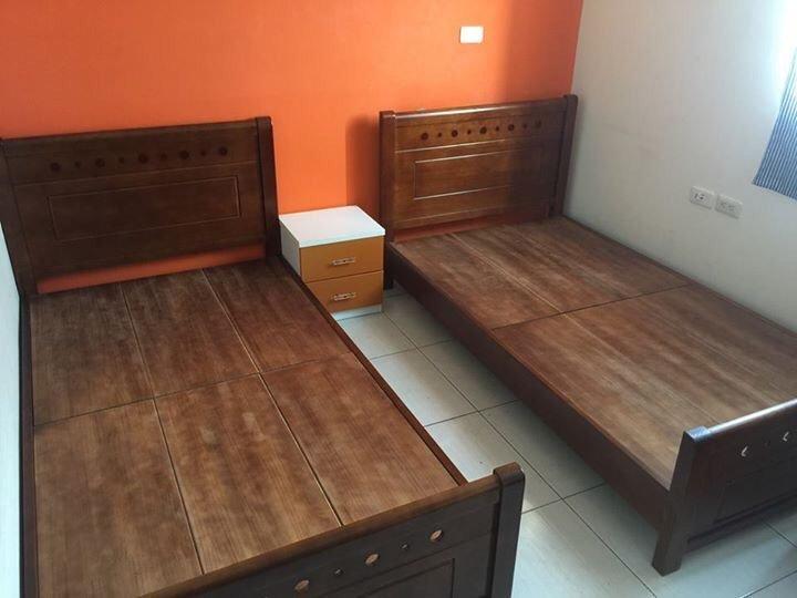 【石川家居】DA-13 雙人加大6尺實木床架 另有單人3.5尺 雙人5尺 卡榫式 民宿可用 耐用 全實木