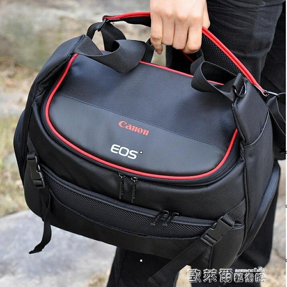 振興 相機包 相機包佳能80D800D6D2EOS單反77D750D5D4原裝單肩防水便攜攝影包 JD 父親節禮物 0