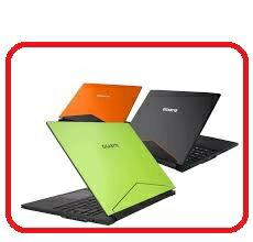 技嘉GIGABYTE Aero14K7-3K  黑/橘/綠 三色款  14吋筆記型電腦 i7-7700HQ/GTX 1050TI D5 4G/DDR4 8G/512G m.2 SSD/W10